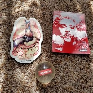 Other - Supreme MADONNA Stickers and bouncy ball